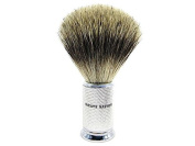SN Pure Badger Brush with Ivory Handle and Free Stand