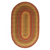 Homespice Oval Jute Braided Rugs, 50cm by 80cm , Allentown