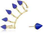 "Noir Jewellery ""Memphis"" Nathalie Earrings and Ear Cuffs"