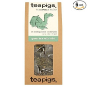 teapigs Green Tea with Mint, 15 Count