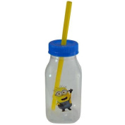 Despicable Me Minion Milk Bottle with Spot Decal 300ml