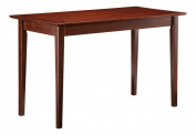 Atlantic Furniture Shaker Work Table, Antique Walnut