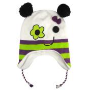 Igloos Girls Fleece Monster Flap Cap