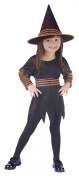 Morris Costumes Girl's WITCH PUMPKIN PATCH TOD, LRG