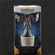 Marvel Guardians Of The Galaxy Dancing Groot Model Toy PVC Figure Original Box