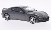 Maserati Gran Turismo Mc Stradale, metallic-dark grey, 2013, Model Car, Ready-made, WhiteBox 1:43