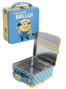 Minions Yellow Bello! Kids Lunch Box With Handle 15cm x 15cm