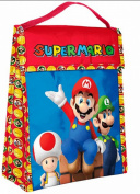 Nintendo Super Mario Brothers Resuable Lunch Bag! Featuring MArio, Luigi & Toad!