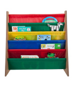Saganizer book shelf and magazine rack Toddler-sized book rack for Kids and adults
