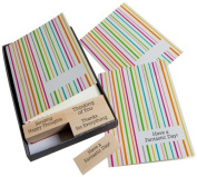 Hero Arts Add Your Message Striped Cards with Messages