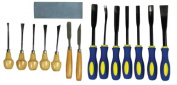 Deluxe Beginner Wood Carving Set 18Pc