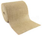 CleverDelights 30cm Natural Burlap Roll - 50 Yards - Eco-Friendly Jute Burlap Fabric - Unfinished Edges - 30cm