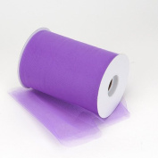 Kate's Craft Store. PURPLE Tulle 15cm x 90m (100 yards) roll.