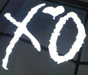 The Weeknd XO Abel Tesfaye Two Pack Vinyl Sticker Car Truck Window Laptop Macbook Wall Art