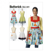 Butterick Patterns B6189OSZ Misses' Aprons Sewing Template, All Sizes