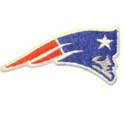 New England Patriots Embroidered Iron on NFL Patch/Applique