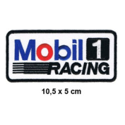 MOBIL 1 Racing Team Motorsport oil Formula 1 F1 Racing Race jacket t shirt Polo Patch Sew Iron on Embroidered
