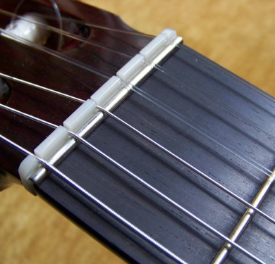 Zero Glide Classical Guitar Nut / Zero Fret with Classical Guitar Specifications 52mm