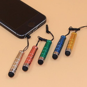 5pcs Mini Stylus Touch Pen with Plastic Material Capacitive Touch Pen for Mobile Phone Tablet Pc Universal Stylus Pens