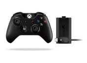 Microsoft Xbox One Wireless Controller with 3.5mm Audio port Bundle with Play & Charge Kit 2015