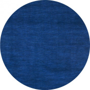 Fusion Round Rug, 1.8m by 1.8m, Blue