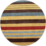 Cosmo Round Rug, 2.4m by 2.4m, Multi