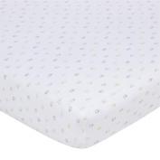 Gerber Knit Crib Sheet - Multi Elephant