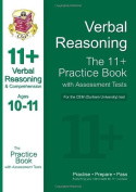 11+ Verbal Reasoning Practise Book with Assessment Tests (Ages 10-11) for the Cem Test