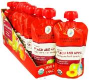Peter Rabbit Organics - Organic Fruit Snack 100% Pure Peach and Apple - 120ml