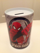 Spider Man Coin Bank for Kids - Red on White