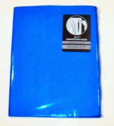 Carolina Pad Studio C Zip-it Wide Ruled Composition Book with Reusable Zipper Pouch Cover ~ Neon Blue