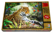Super 3D Puzzle - Lazy Amazon Afternoon - 500 Pieces