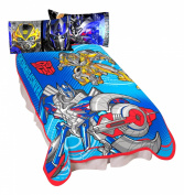 Transformers Shield Micro Raschel Blanket, 160cm by 230cm