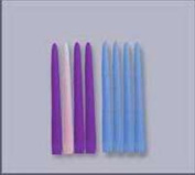 Candle-Advent-25cm Refill Candles 3 Purp/1 Pink