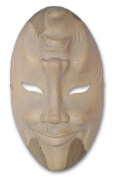 Wood mask, 'Comedy and Tragedy'