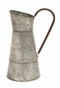 Plutus Brands Galvanised Watering Jug with Classic Design