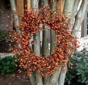 Autumn Orange Berry Wreath - 50cm