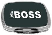 Rikki Knight Like a Boss Design Compact Mirror, Green, 60ml