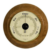 Weather Barometer in Dark Oak for High Elevations 910m to 2,130m