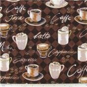 New Window Curtain Brown UNLINED Valance made from Coffee Java Mocha Cappuccino Cotton fabric