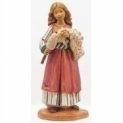 Fontanini Beth Young Spinner * Nativity Village Collectible 75511