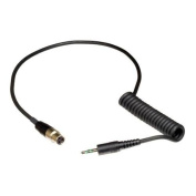 Shure WA460 1.1m Output Cable TA3F Connector to Stereo Miniplug Connector for VP3 Receivers