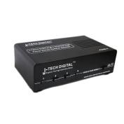 J-Tech Digital ® 4-channel High Power Stereo Speaker Selector