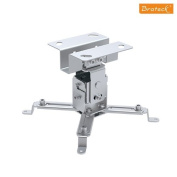 Mount-It! MI-605 Universal LCD / DLP Video Projector Ceiling Mount with 15 Degree Tilt Function, Carrying Capacity of 20kg, Fits compatible with  compatible with  compatible with  compatible with  compatible with  compatible with  compatible with  compati