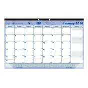Brownline 2016 Monthly Desk Pad, 45cm x 28cm