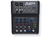 alesis MULTIMIX4USBFX 4-Channel Mixer with Effects Plus USB Audio Interface