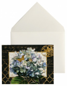 C.R. Gibson Boxed Notecards, 10-Count, Gilded Radiance
