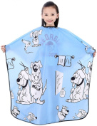 Child Hair Cutting Cape, Kids Shampoo Cape Waterproof Capes ,130cm x 90cm