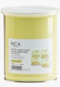 Rica Liposoluble Wax-White Chocolate-For Dry Skin 800 ML