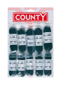 County Football Laces Black - Card 10
